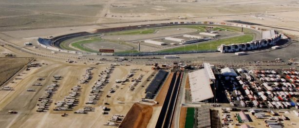 aerial picture of las vegas motor speedway