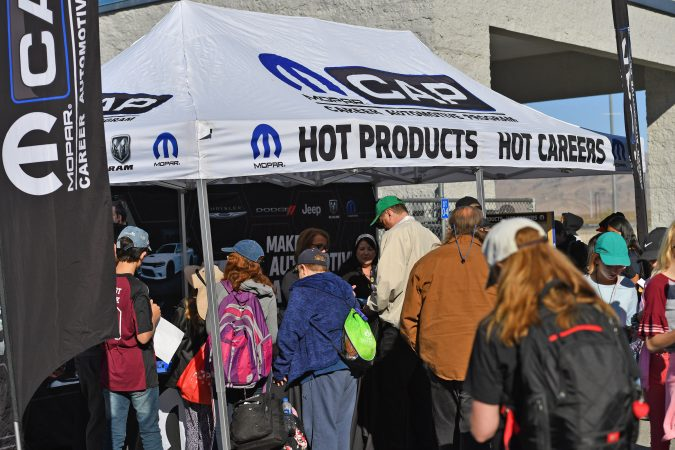 mopar cap program tent