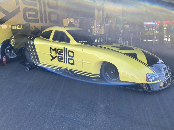 mello yello car
