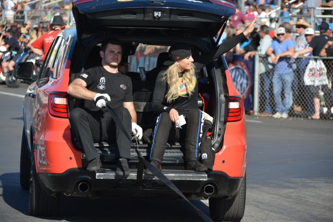 leah pritchett and crew member
