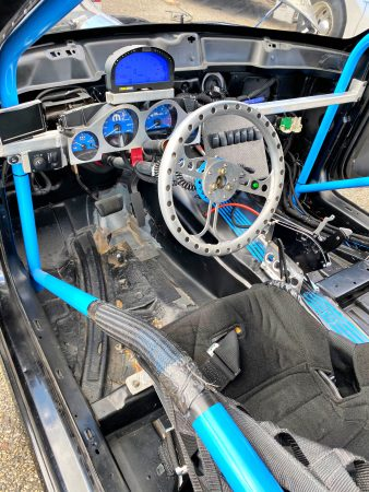 racing vehicle interior