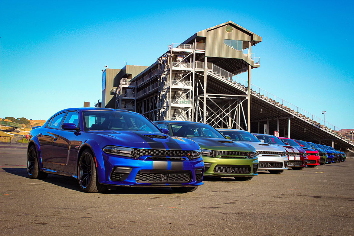 multiple charger widebodies