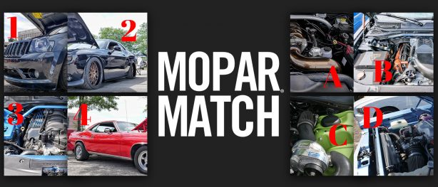 Mopar<sub>&reg;</sub> Match Round 4 &#8211; Dream Cruise Edition