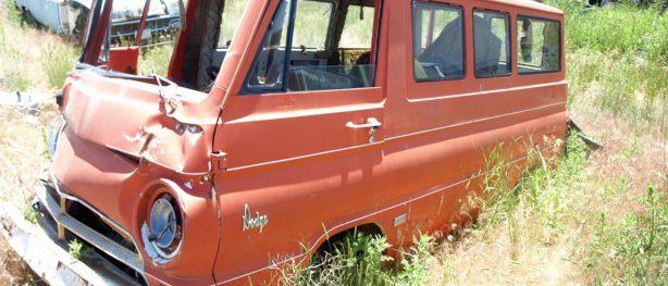 old dodge van