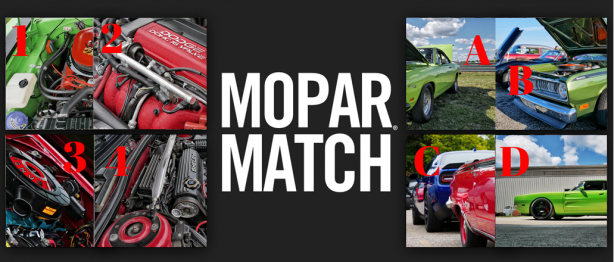 Mopar<sub>&reg;</sub> Match Round 6 &#8211; Holiday Edition