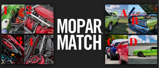 Mopar<sub>&reg;</sub> Match Round 6 &#8211; Holiday Edition