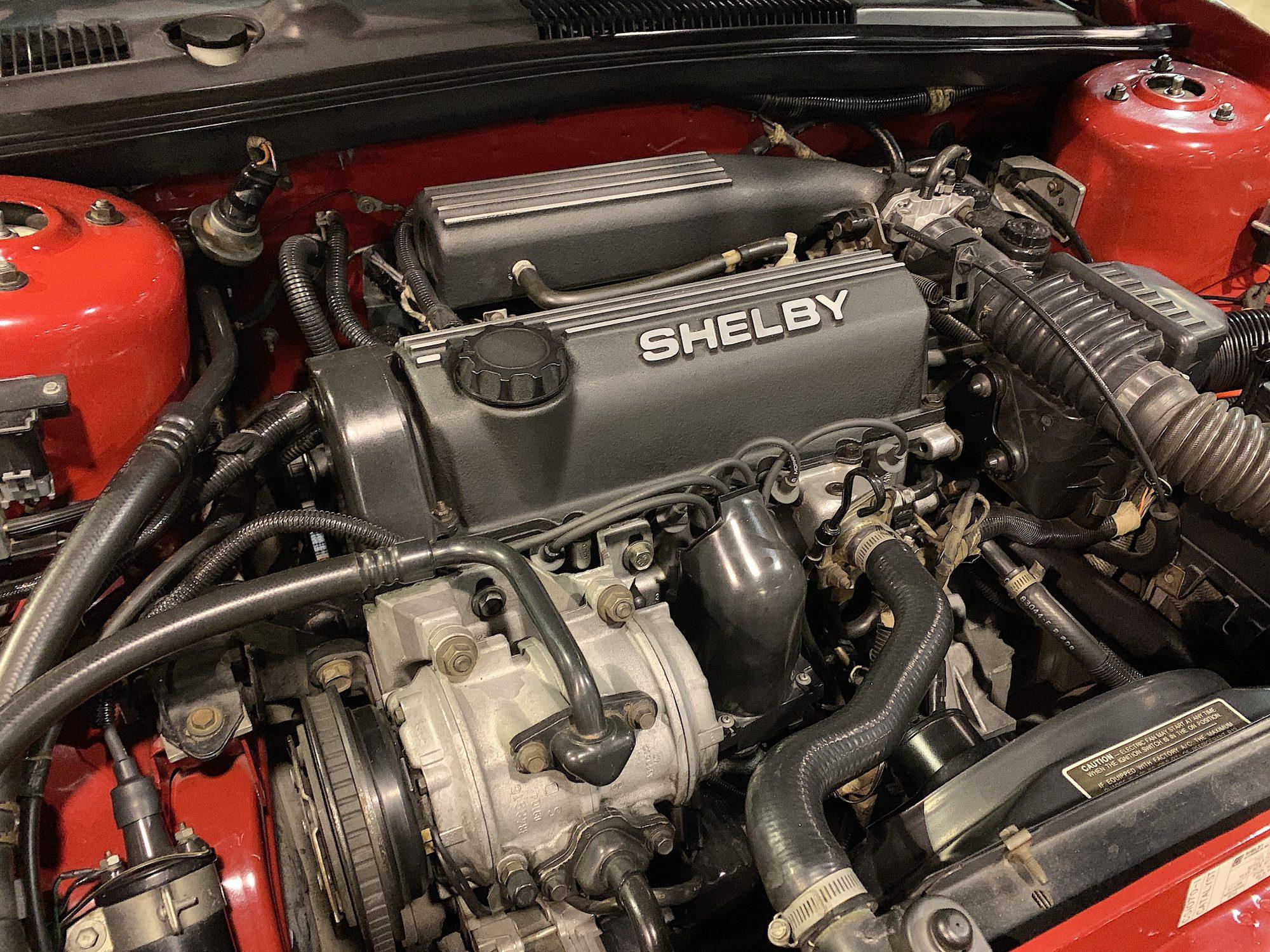 Engine of Shelby Lancer
