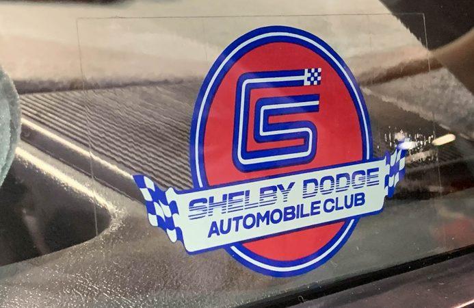 Shelby Dodge Club logo