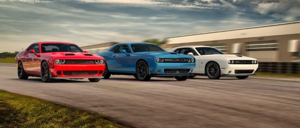 red white and blue challengers