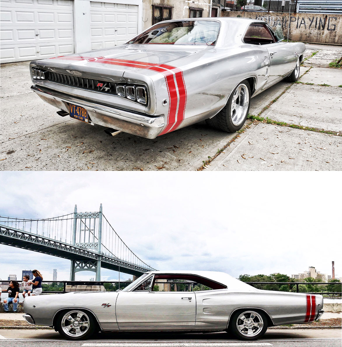 Peter Tsonos' Coronet R/T, the story on this car that was built in Queens hasn't been published yet, but it will be soon and you'll love this car as much as I do!