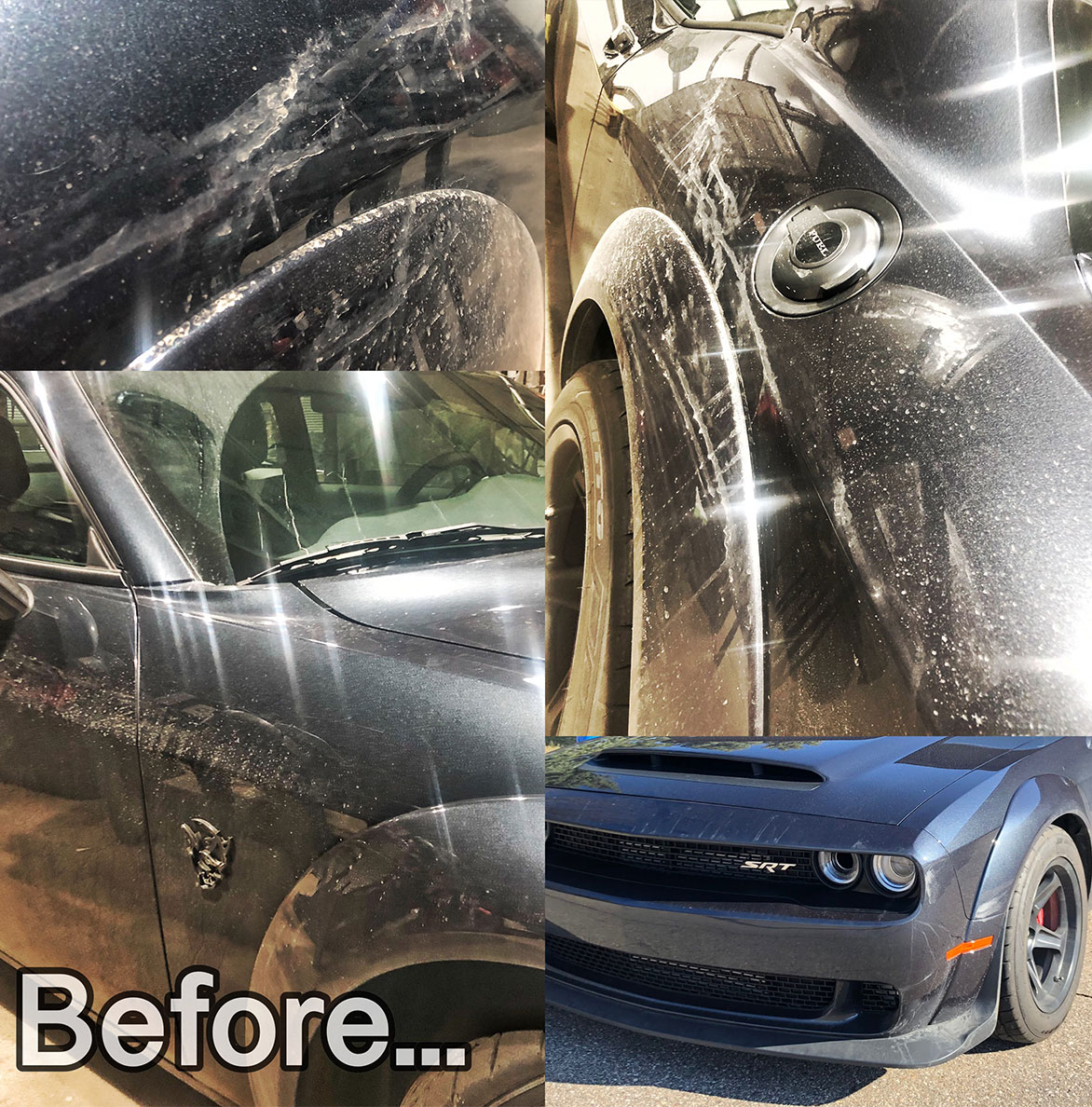 My Dodge Challenger SRT® Demon getting a much-needed spring cleaning from Marc Harris at Detroit Detailing.