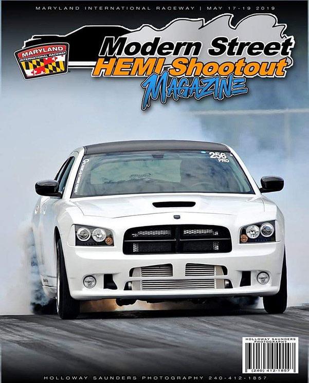 modern street hemi shootout poster