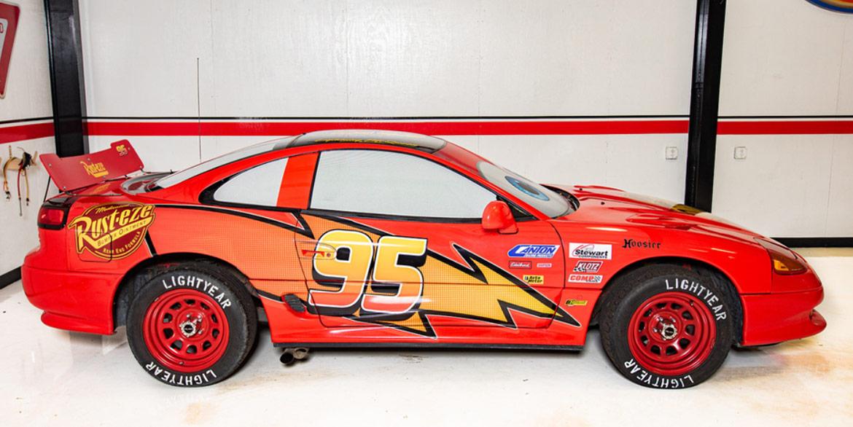 1992 Dodge Stealth Lightning McQueen Tribute