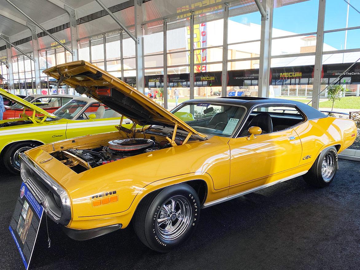 1971 Plymouth HEMI GTX Sunroof