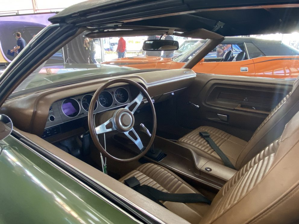 1970 Dodge Challenger R/T Convertible interior