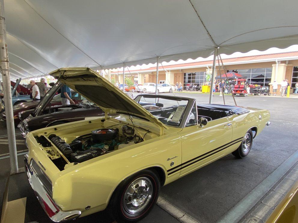 1968 Plymouth Cuda Formula S Convertible