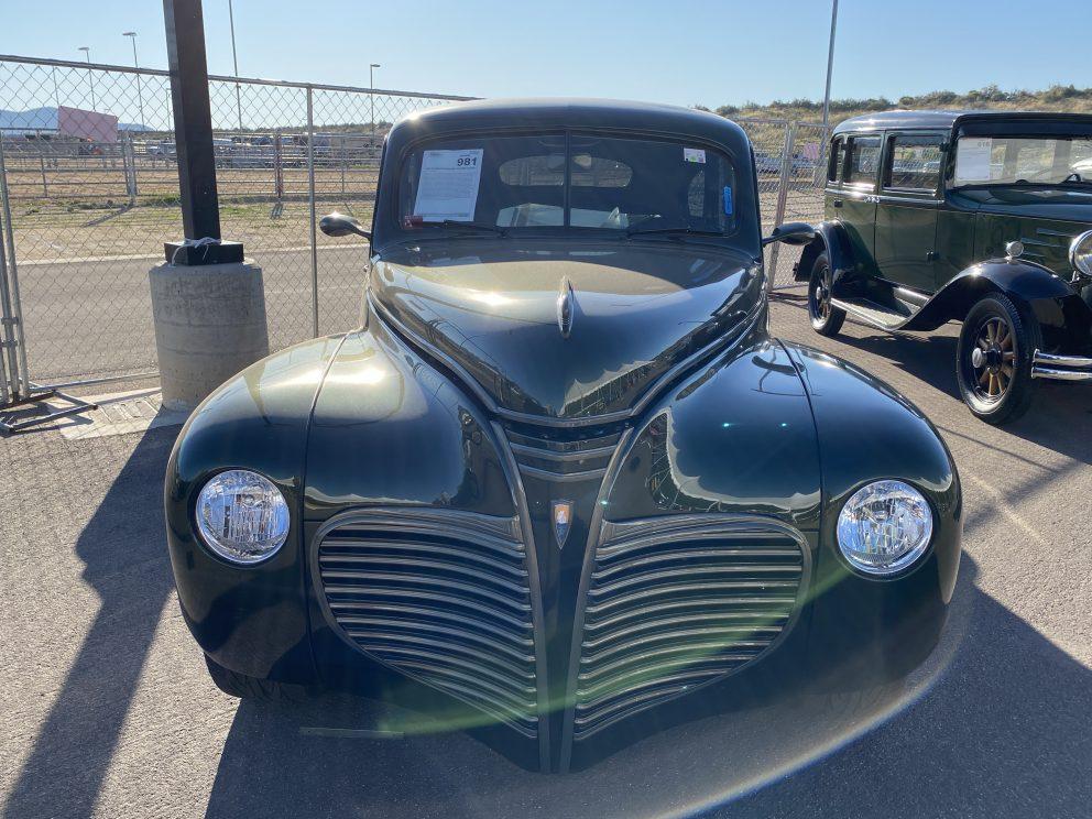 1941 Plymouth Deluxe Custom Sedan