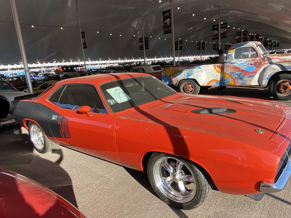 1973 Plymouth Cuda 2 Door Hardtop