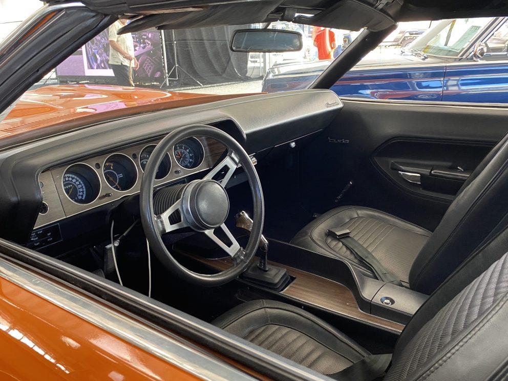 1970 Plymouth 'Cuda Convertible interior