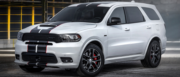 Dodge Expands Factory-Custom Options with 2020 Durango SRT<sup>&reg;</sup> Black and Redline Stripe