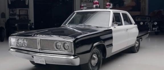 1966 Dodge Coronet police car