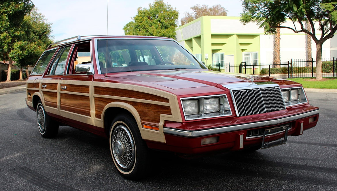 1985 Chrysler Town & Country Wagon