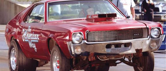 1969 AMC Hurst Lightweight AMX