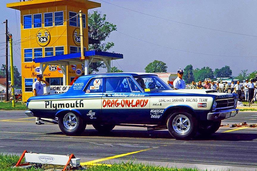 drag racing vehicle