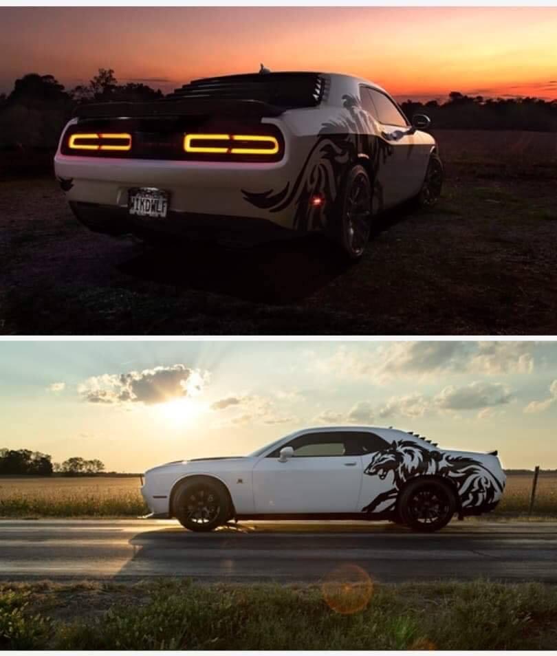 vehicle at sunset