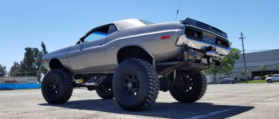 modified 1972 dodge challenger