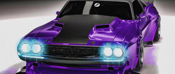 modified 1970 dodge challenger