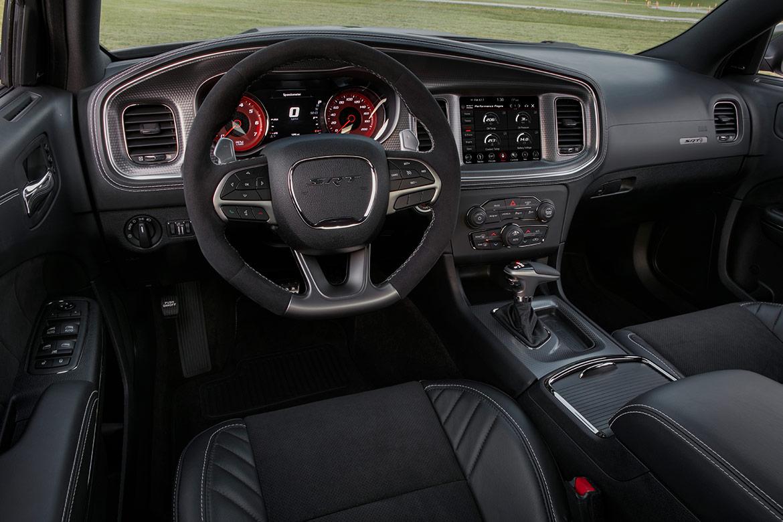 2020 Charger SRT Hellcat Widebody interior