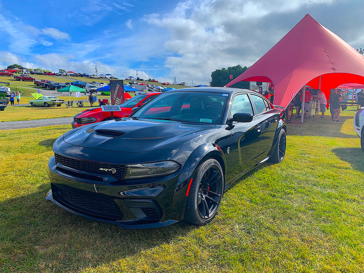 2020 Charger SRT Hellcat Widebody on display