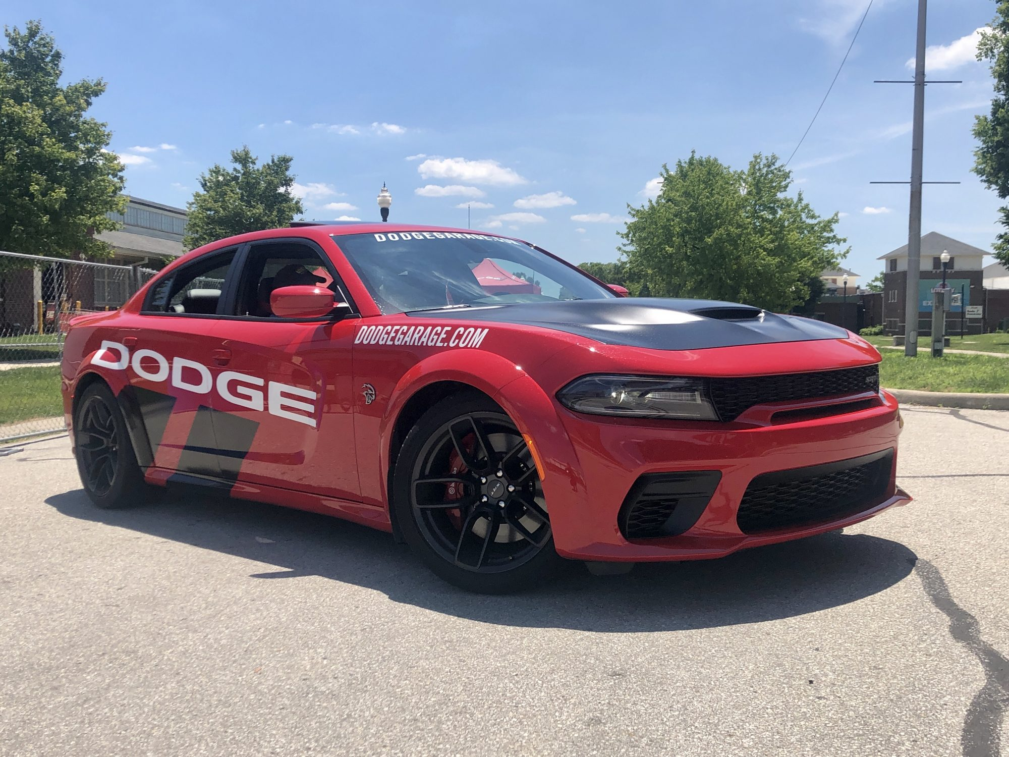 dodge thrill ride