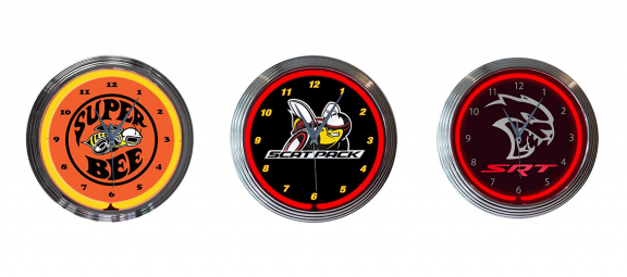Dodge branded clocks