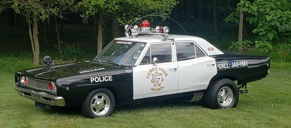 1968 Dodge Coronet cop car