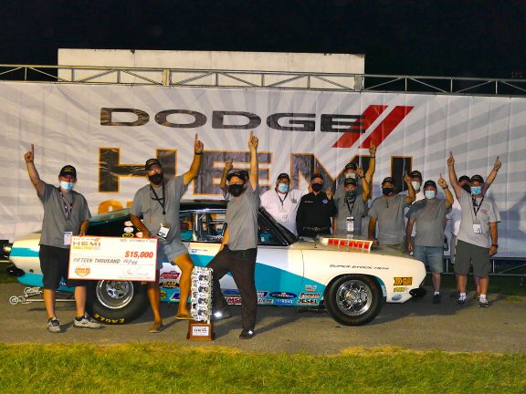 New Dodge HEMI<sup>&reg;</sup> Challenge Champion Crowned at the 2020 NHRA U.S. Nationals