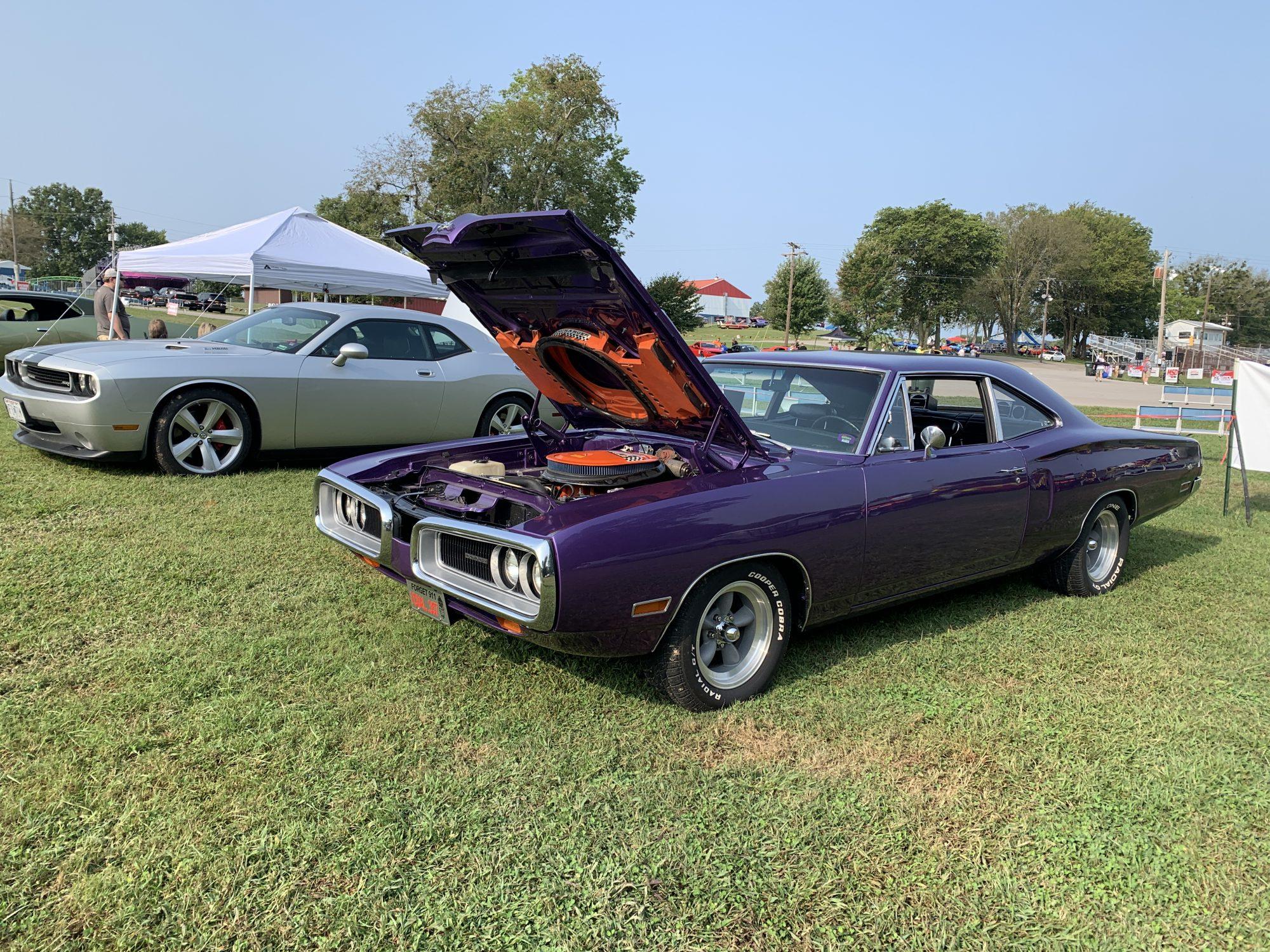 Classic Dodge on display