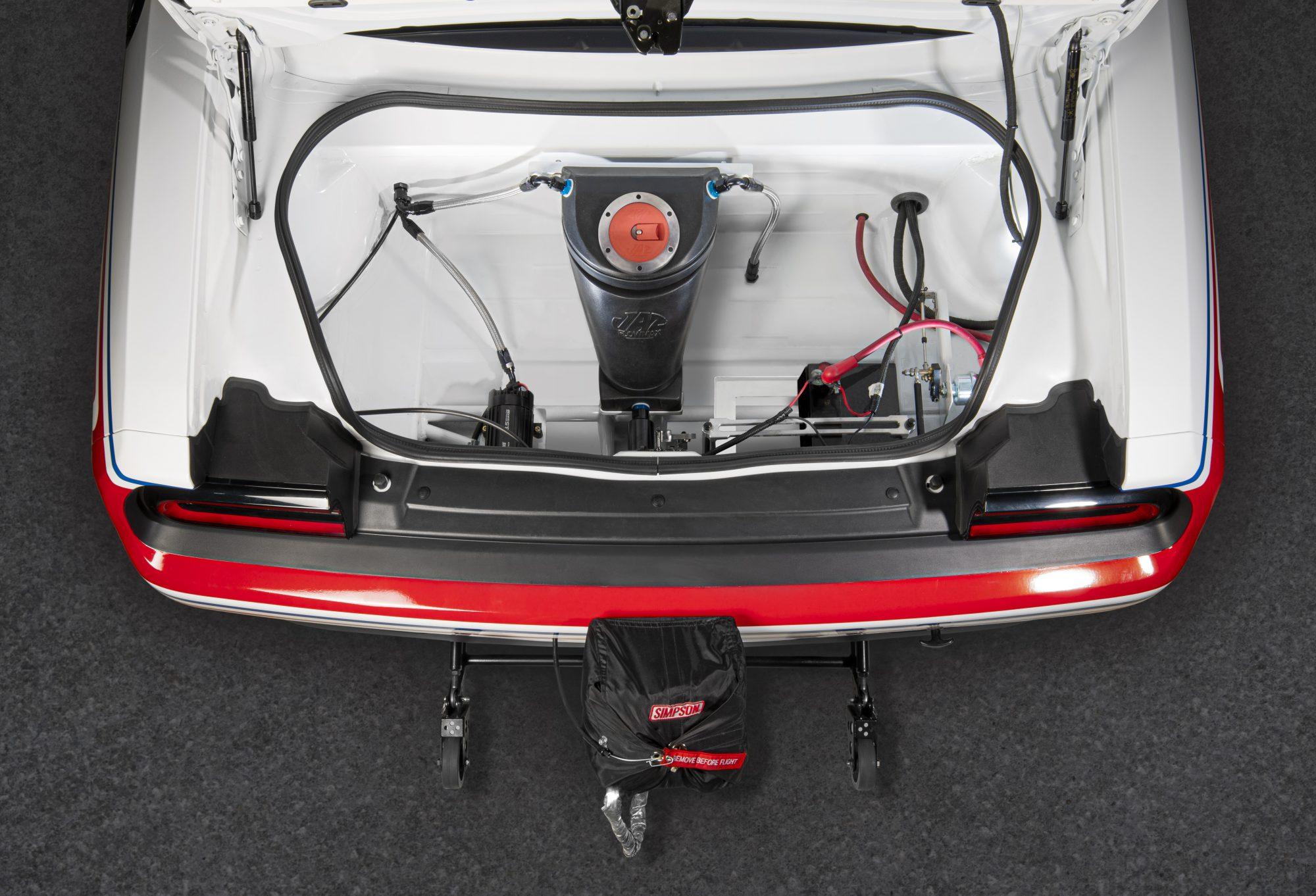 Trunk Dodge Challenger Mopar Drag Pak