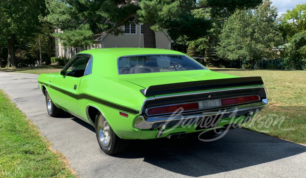 challenger rear angled