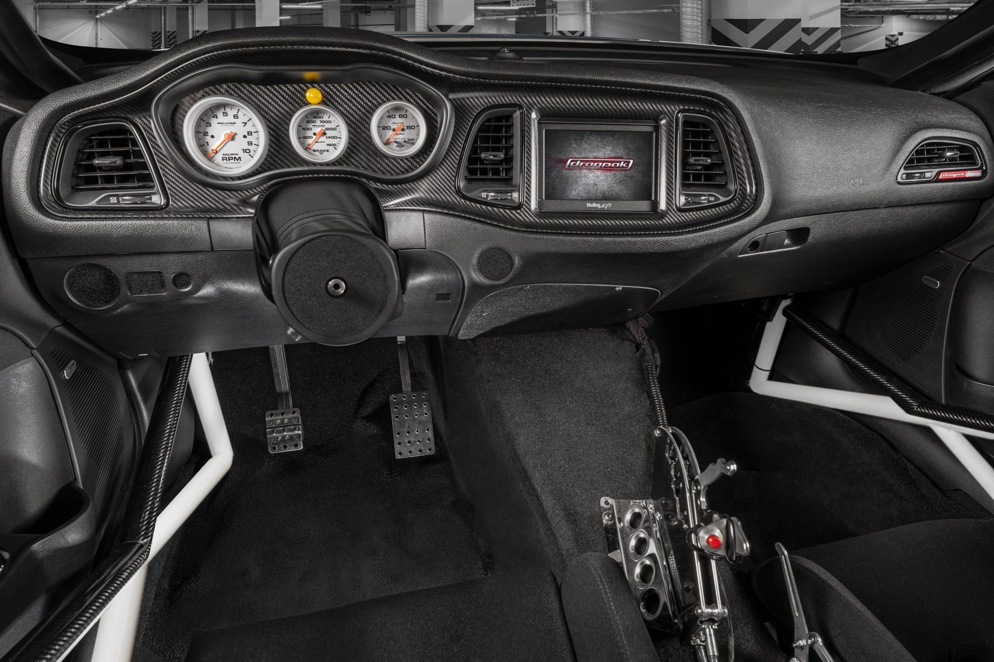 Interior Dodge Challenger Mopar Drag Pak