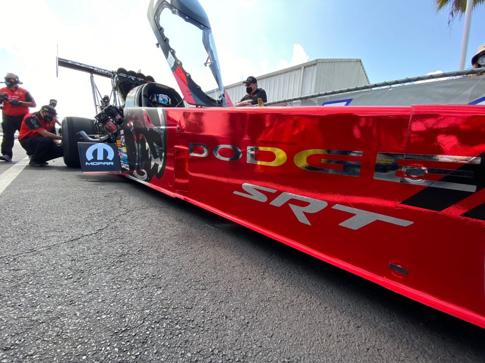 top fuel car