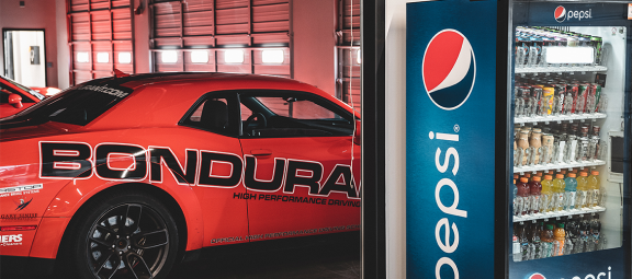 PepsiCo to Be the Official Refreshment of the Bondurant High Performance Driving School