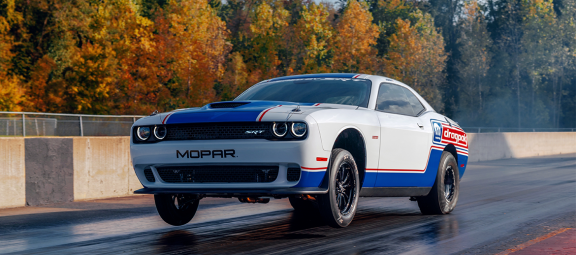 New 'Leader of the Pak' Coming Soon: Order Reservations Set to Open for Quickest, Fastest and Most Powerful Dodge Challenger Mopar<sub>&reg;</sub> Drag Pak Ever