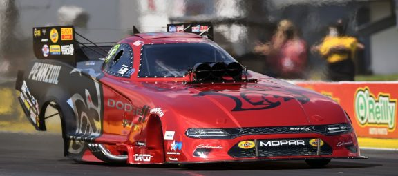 Three-Second Run Earns Hagan's Dodge Charger SRT Hellcat Redeye No. 1 Qualifier Position at NHRA Gatornationals