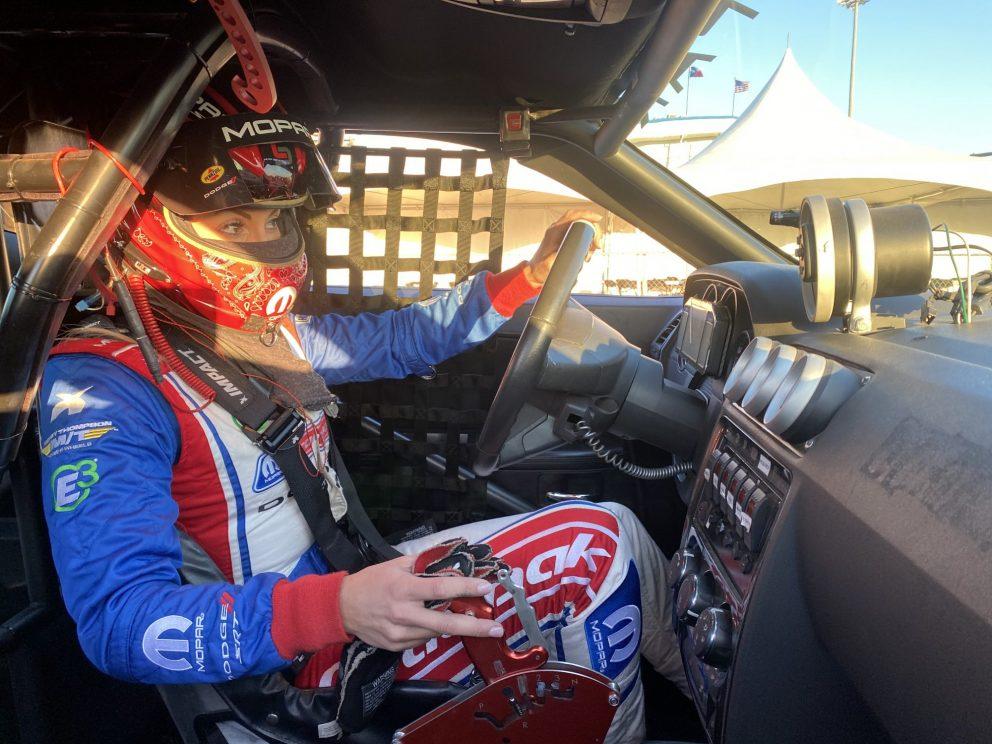 Leah Pruett ready to race