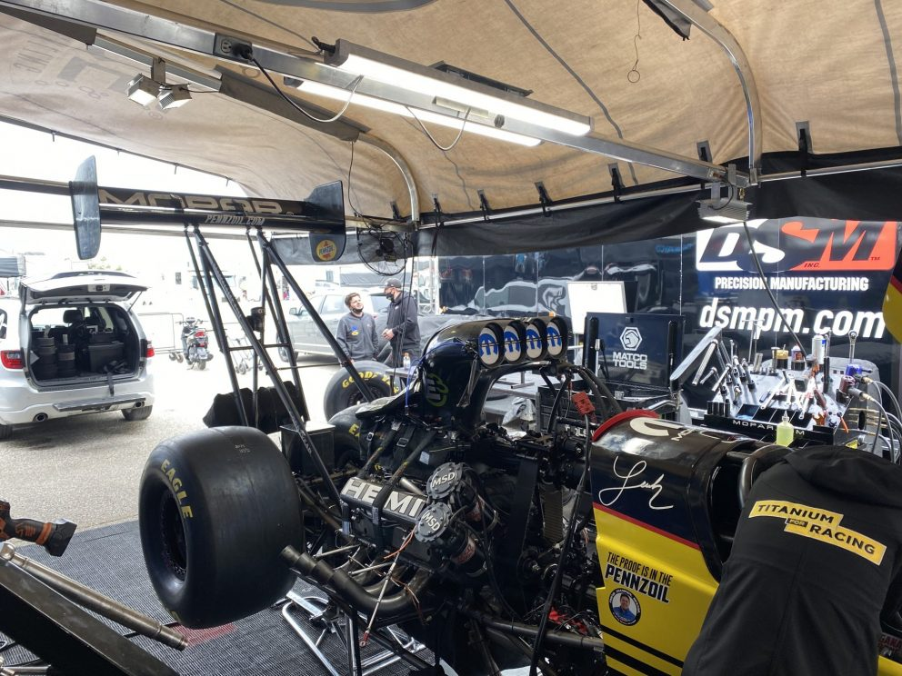 Leah's top fuel dragster