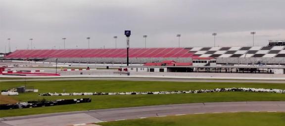 NASCAR oval track