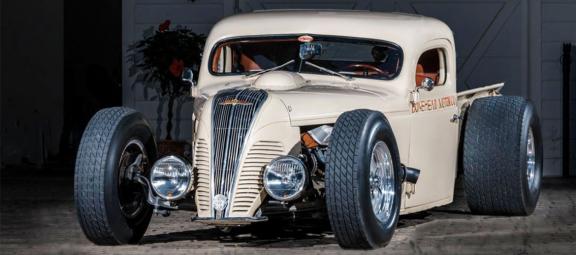custom Dodge Pickup Hot Rod