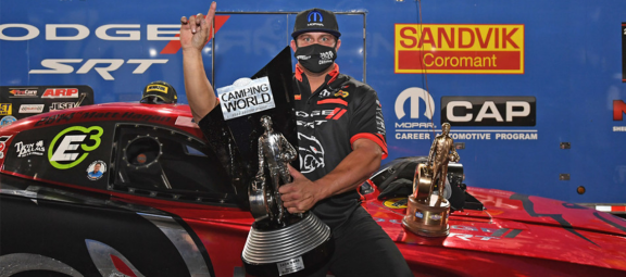 CarCast: Matt Hagan Talks to the Guys About His World Championship Funny Car Win